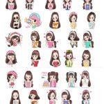Girl Love Collection Beauty Queen Telegram Stickers