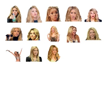 Hot Shakira Stickers Telegram