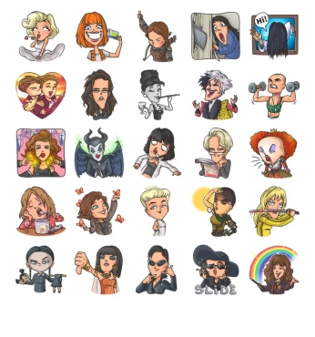 The Best Movie Stickers Telegram Collection Emoji Chat